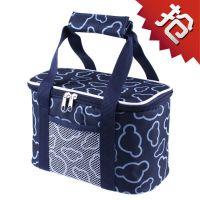 饭盒清新帆布便携登山旅游保鲜袋大号便携式午餐包手提便当包外出