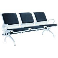 铁排椅软垫-多人位休息椅可加软垫-三人软垫连排椅