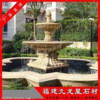 石雕水钵批发 景观水景雕刻 石材喷泉价格