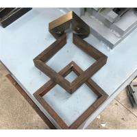 瑞威机械扁钢切角机、方管切角机、门框45度折角机