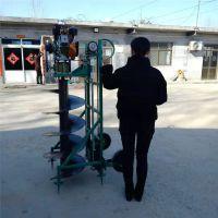慧聪机械 大棚立柱打眼挖坑机价格 冻土层打洞机 果树种植挖坑机销售