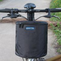 折叠车车筐帆布小号加厚儿童车篮子电动车篓山地自行车滑板前车筐