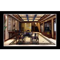 阔达装饰首席设计师于奇作品-大地伊利亚特湾中式风格装修案例
