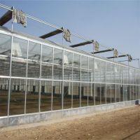 智能玻璃温室大棚建设 连栋玻璃温室大棚 新型玻璃温室蔬菜大棚