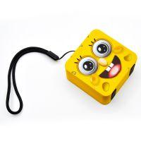 颢轩电子小奶酪防水蓝牙音响工厂供应户外便携式迷你小音箱IPX6级防水