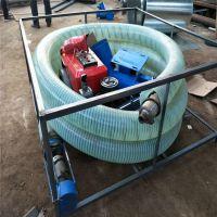 车载吸粮机型号 抽粮上粮机 定做软管吸粮机