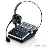 北恩呼叫中心话务耳麦DT-30型自动IP带全视角LCD显示原装正品