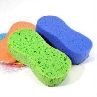 洗车工具8字海绵抗磨汽车清洁海棉彩色