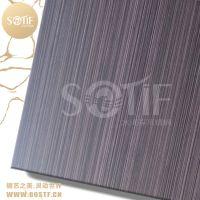 常州铜门厂大门装饰304不锈钢纳米紫铜板不锈钢仿紫铜板