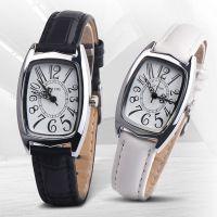 外贸热卖OKTIME旋律罗马数字方壳手表学生男生女生真皮皮带手表