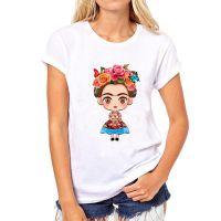 速卖通爆款卡通墨西哥弗里达·Frida 印花热卖女士T恤