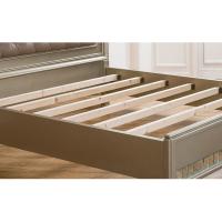逸邦定制全实木双人床北欧家具卧室床简约软包床头板婚床现货特价