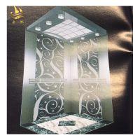 佛山金一帆玫瑰金蚀刻电梯板 不锈钢镜面花纹板 专业定制不锈钢电梯装饰板