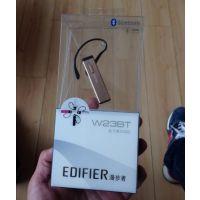 漫步者W23BT蓝牙耳机4.0 通用无线手机挂耳式运动车载耳塞式迷你