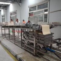 自动豆腐皮生产线 一小时可达四百多斤