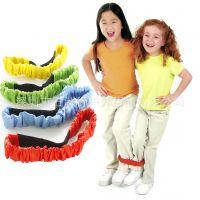 幼教儿童教具两人三足绑带感统训练早教益智用品 儿童田径用品