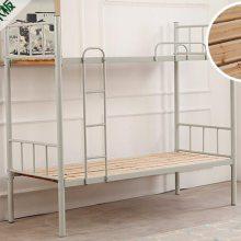 石家庄双层上下铺铁床架子床两层床高低床