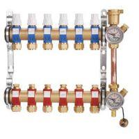 德曼凡黄铜分机水器丨分集水器厂家丨一体锻造