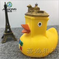 定做浮水鸭子 搪胶玩具礼品 宝宝唧水玩具 PVC注塑公仔生产厂