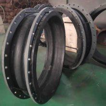 广西DN1200大翻边高压橡胶接头,走灰用耐磨橡胶接头,加导流筒膨胀节