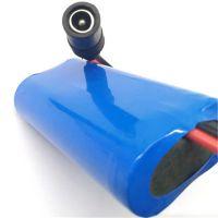 定制7.4V 2600mAh指纹锁 U型车位锁电池 遥控车位锁 智能锁电池 锂电池