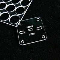 实验专用耐高温光学玻璃片石英玻璃片透明磨砂圆形长方形打孔定制