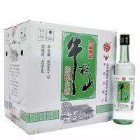 北京特产牛栏山二锅头白酒新一代陈酿43度500ml*12整箱特价批发