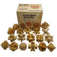 jsh木质制二十四锁 孔明锁鲁班锁 儿童老人益智力玩具24锁二十四