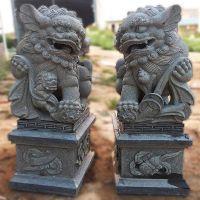 福建惠安厂家批发石雕狮子献钱狮雕刻石狮汉白玉青石工艺品