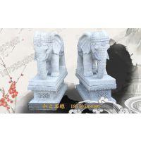 2米石雕大象门口摆件 福建惠安石雕厂家定制销售 招财进宝 可定制
