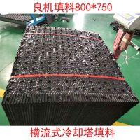 大点波填料生产视频 优质方形塔PVC填料 河北华强