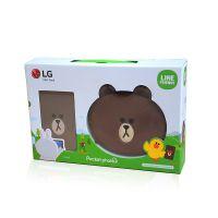 LG便携式无线蓝牙迷你手机照片口袋机打印机拍立得布朗熊限量版
