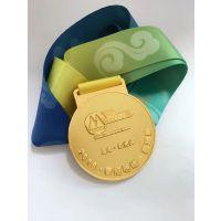 南京设计个性金属奖牌制作南京授权奖牌定制厂家