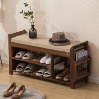 进门口小鞋架简易家用多功能省空间简约现代门厅鞋柜收纳穿换鞋凳