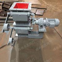 供应电动双层350x350翻板卸灰阀 温州生产方口翻板阀碳钢材质