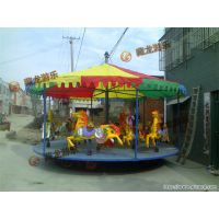 济南藏龙游乐游乐场简易转马供应