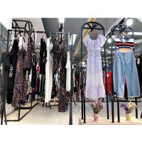 杭州一线品牌嘉蜜夏装时尚休闲女装走份批发库存货源特价