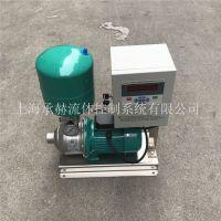 正品德国威乐卧式水泵MHIL203变频泵小型管道恒压增压泵自来水管道加压泵