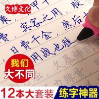 字帖成人楷书凹版练字本钢笔男女儿童小学生正楷速成反复使用神器