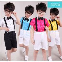 新款夏装中小学生校服儿童校服六一表演合唱服演出服装