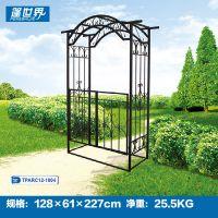 别墅拱门设计建筑园林铁艺拱门TPARC-12-1004