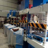 建材生产加工机械 全自动静压垫块机 高架马镫支撑水泥垫块机
