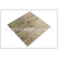佛山批发木纹2mm片材防水地板胶水泥瓷砖水磨石地面翻新石塑地板