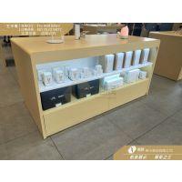 国内首发华为3.5中岛体验柜生产厂家 华为3.5木纹体验台定做价格