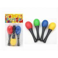 厂家批发奥尔夫儿童乐器 四色塑料小沙锤幼儿园早教益智玩具