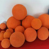 机械管道用清洗橡胶球 定制加工 16-28mm 冀州亿恒