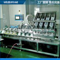 广州四头全自动灌装机械 常压眼膜设备 诚鑫机械面膜灌装机
