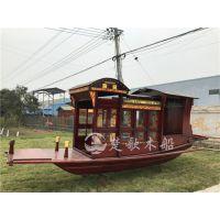 天津红船博物馆购买的6米嘉兴南湖红船厂家直销 手工定制