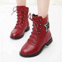 女童鞋9春天4小女孩5长靴子6马丁靴7儿童8春秋冬季10鞋子3-11岁12