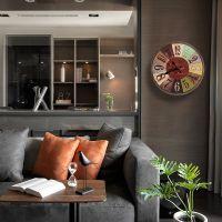 美式复古壁挂家居客厅墙壁创意钟表墙面墙上店铺挂件软装饰品墙饰